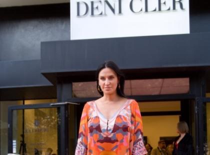 Goście i kulisy pokazu Deni Cler - czerwiec 2009