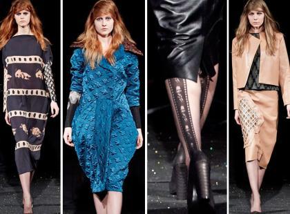 Gosia Baczyńska - jedyna Polka na Paris Fashion Week