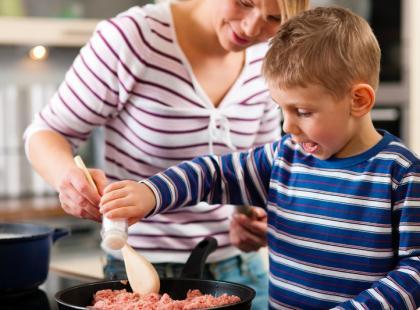 Gotowanie z maluchem