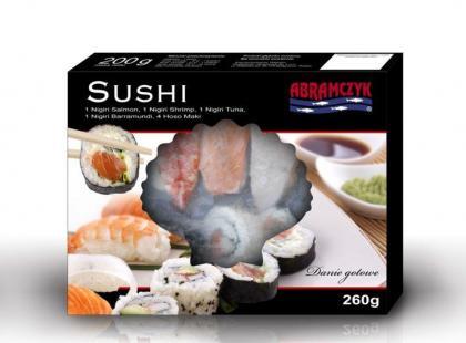 Gotowe sushi marki Abramczyk