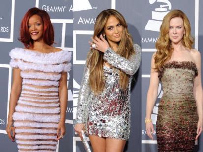 Grammy 2011: Panie na czerwonym dywanie