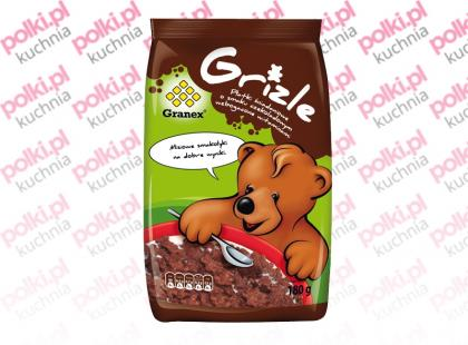 Grizle – płatki śniadaniowe o smaku czekoladowym