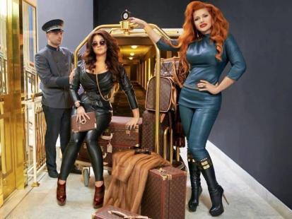 Grycanki udawały ambasadorki Louis Vuitton!