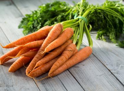 Grzebyki marchewkowe z nadzieniem morelowym