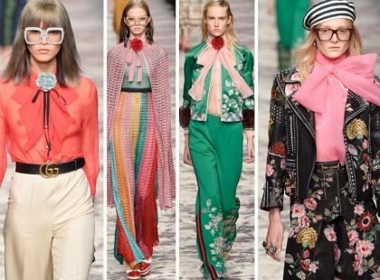 Gucci: zobacz jedną z najlepszych kolekcji sezonu wiosennego