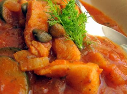 Gulasz rybny - Kasia gotuje z Polki.pl