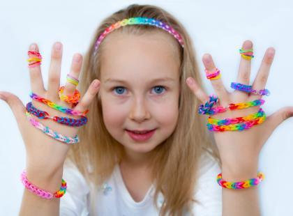Gumki loom bands i dziecięce rękodzieła!