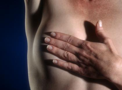 Guzki  piersi w młodym wieku