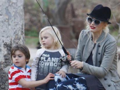 Gwen Stefani na rybach!