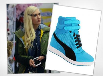 Gwen Stefani ponownie w hightopach Pumy