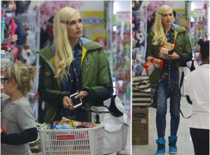 Gwen Stefani przyłapana na zakupach. NIE WYGLĄDA na swój wiek