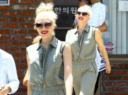 Gwen Stefani to stylowa mama. Wybrała modny kombinezon