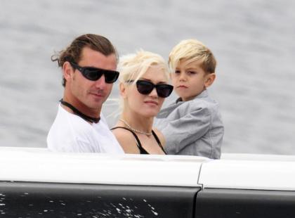Gwen Stefani z rodziną w Cannes