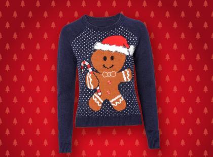 Gwiazdkowy must-have: sweter ze świątecznym motywem