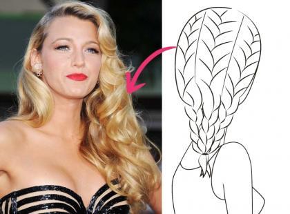 Gwiazdorskie fryzury, które robią się same!