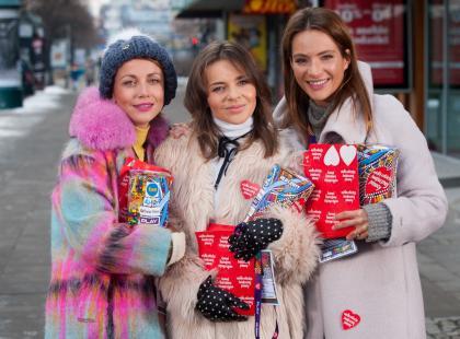 Gwiazdy dla WOŚP. Kasia Zielińska, Anna Dereszowska i Edyta Herbuś w akcji. Mamy zdjęcia!