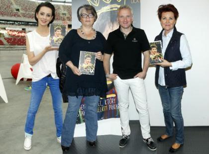 Gwiazdy i ich dzieci na premierze książki o znanym piłkarzu