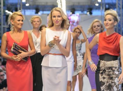 Gwiazdy jako modelki na Warsaw Fashion Street 2012