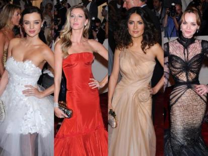 Gwiazdy na Costume Institute Gala 2011