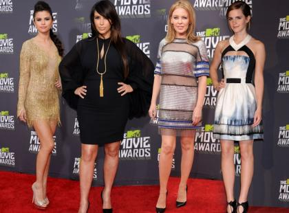 Gwiazdy na gali MTV Movie Awards