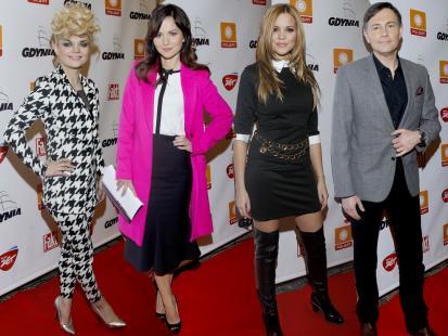 Gwiazdy na konferencji sylwestrowej Polsatu
