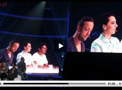 Gwiazdy na konferencji X-Factor 3 [video]
