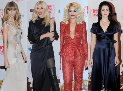 Gwiazdy na MTV EMA 2012