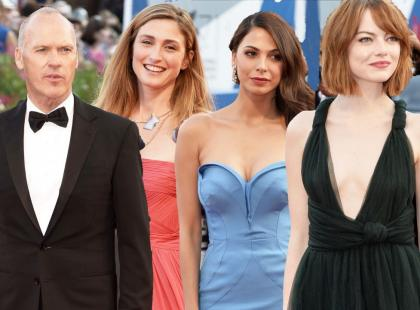 Gwiazdy na otwarciu festiwalu filmowego w Wenecji