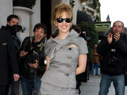 Gwiazdy na paryskim Tygodniu Mody 2010