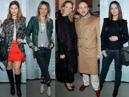 Gwiazdy na pokazie kolekcji Maison Martin Margiela dla H&M