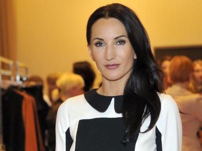 Gwiazdy na pokazie mody Laura Guidi jesień-zimę 2011/2012