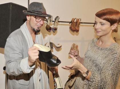 Gwiazdy na pokazie nowej kolekcji butów Kazar
