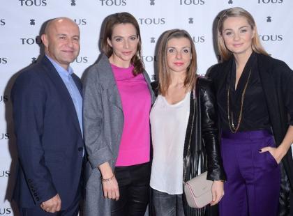 Gwiazdy na pokazie nowej kolekcji marki Tous
