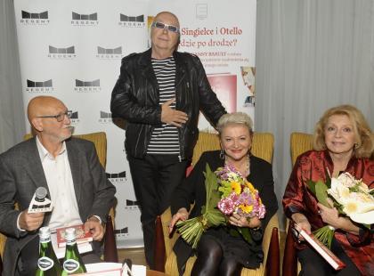 """Gwiazdy na premierze książki Hanny Bakuły """"Singielka i Otello. Na zakręcie"""""""