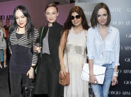 Gwiazdy na premierze nowych perfum Armaniego