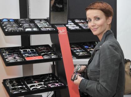 Gwiazdy na prezentacji kolekcji okularów na lato 2012