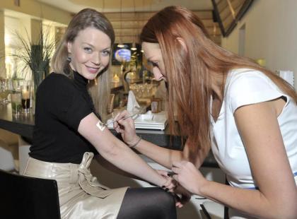 Gwiazdy na prezentacji nowych kosmetyków Sisley