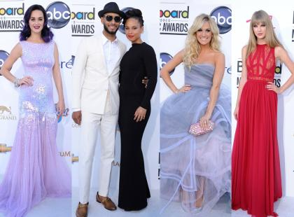 Gwiazdy na rozdaniu Billboard Awards 2012