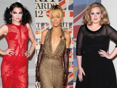 Gwiazdy na rozdaniu Brit Awards 2012