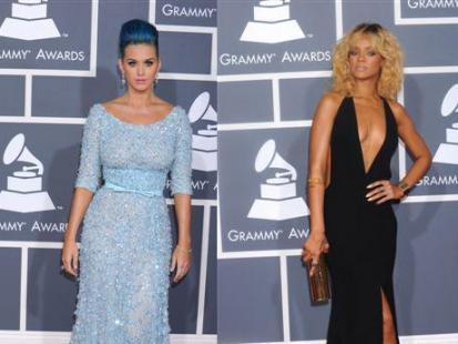 Gwiazdy na rozdaniu Grammy Awards 2012
