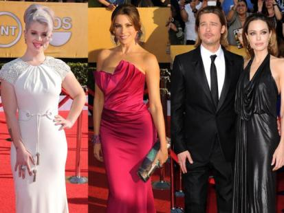 Gwiazdy na Screen Actors Guild Awards 2012