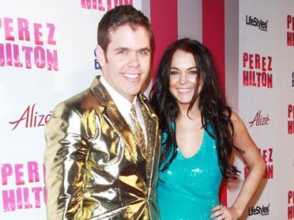 Gwiazdy na urodzinach Pereza Hiltona