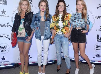 Gwiazdy na urodzinach popularnej marki odzieżowej