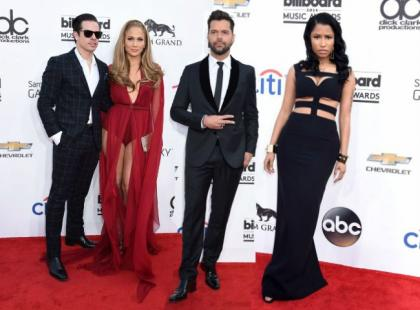 Gwiazdy na wielkiej gali Billboard Music Awards