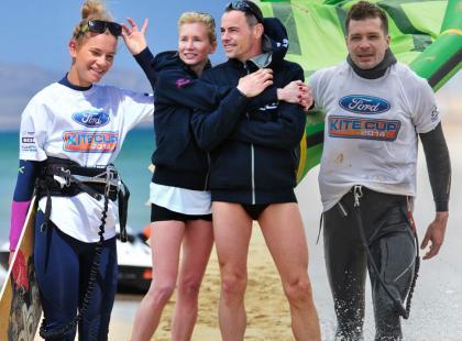Gwiazdy na zawodach Ford Kite Cup 2014