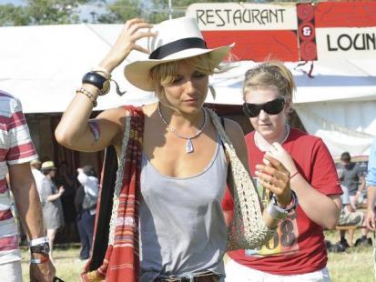 Gwiazdy podczas Glastonbury Festival 2010