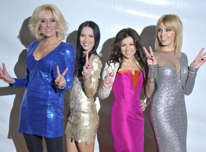 Gwiazdy podczas Sylwestrowej Mocy Przebojów 2011