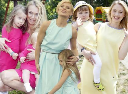 Gwiazdy pokazały urocze dzieci na wielkim pikniku