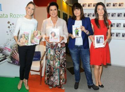 Gwiazdy promowały swoje książki na Warszawskich Targach Książki