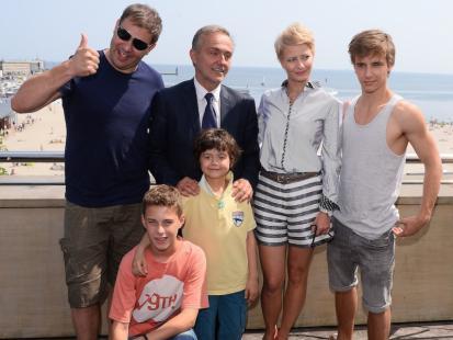Gwiazdy serialu Rodzinka.pl nad morzem Bałtyckim